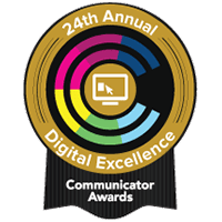 2018 Communicator Awards AWARD OF EXCELLENCE